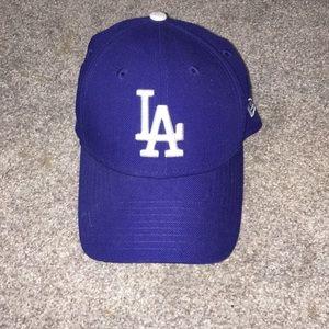 Blue LA DODGERS baseball hat